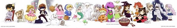 Tags: Anime, Zelda C. Wang, Zeus, Hades, Artemis (Mythology), Aphrodite, Athena (Angelic Layer), Ares, Persephone, Thanatos (Mythology), Hera (Mythology), Poseidon, Apollo (Mythology)