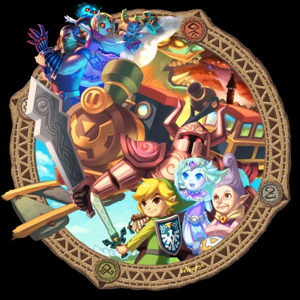 Zelda no Densetsu: Daichi no Kiteki (The Legend Of Zelda: Spirit Tracks) - Zelda no Densetsu
