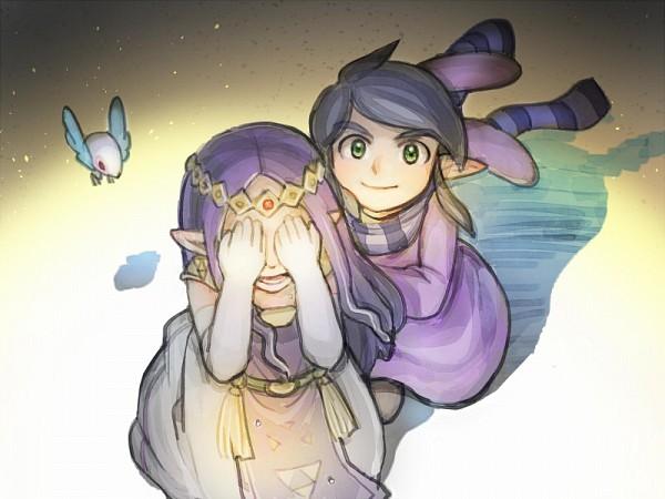 Tags: Anime, Pixiv Id 91634, Zelda no Densetsu: Kamigami no Triforce 2, Zelda no Densetsu, Princess Hilda, Ravio, Fanart, Fanart From Pixiv, Pixiv, A Link Between Worlds