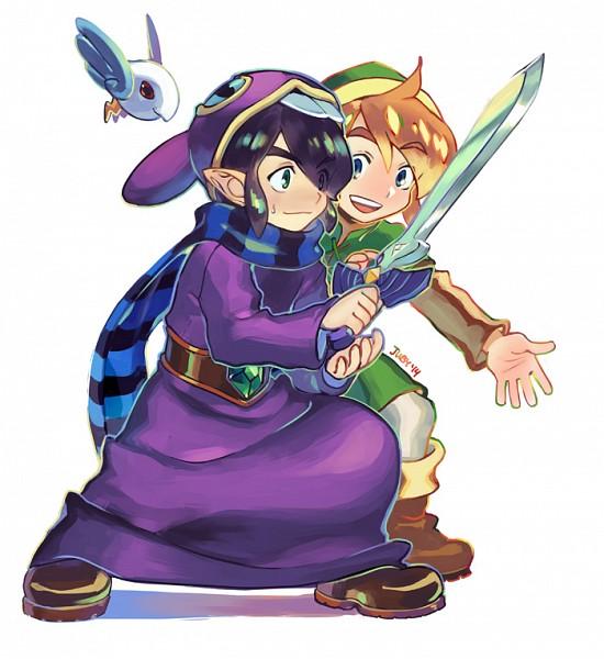 Tags: Anime, juby, Zelda no Densetsu: Kamigami no Triforce 2, Zelda no Densetsu, Link (Kamigami no Triforce 2), Ravio, Link, Master Sword, Fanart, Tumblr, A Link Between Worlds