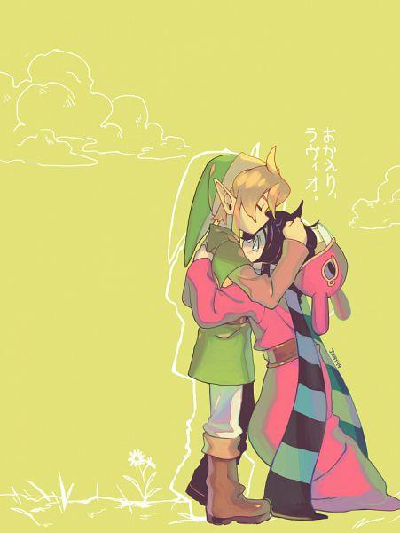 Tags: Anime, juby, Zelda no Densetsu: Kamigami no Triforce 2, Zelda no Densetsu, Link (Kamigami no Triforce 2), Link, Ravio, Tunic, Tumblr, Fanart, A Link Between Worlds