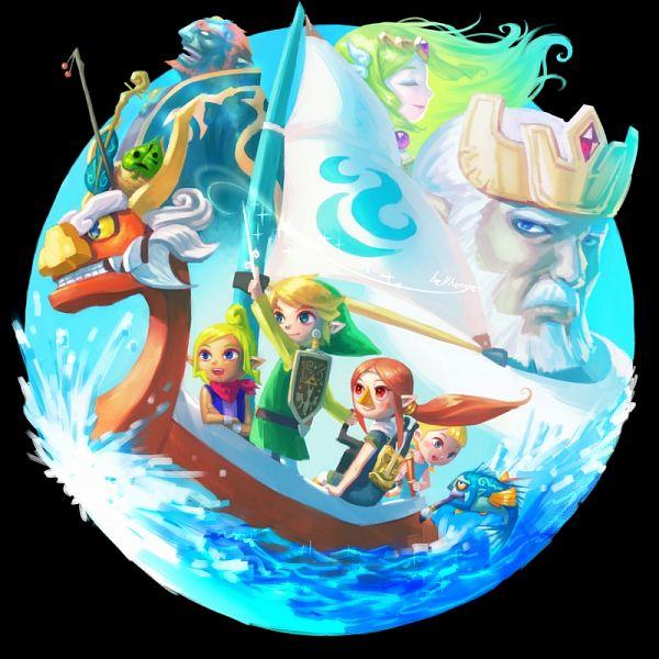 Zelda no Densetsu: Kaze no Takuto (The Legend Of Zelda: The Wind Waker) - Zelda no Densetsu