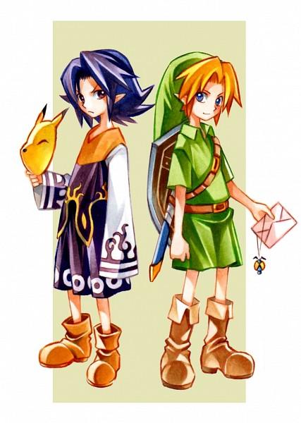 Tags: Anime, Pixiv Id 9250993, Zelda no Densetsu: Mujura no Kamen, Zelda no Densetsu, Link, Young Link, Kafei, Pixiv, Fanart From Pixiv, Fanart, The Legend Of Zelda: Majora's Mask