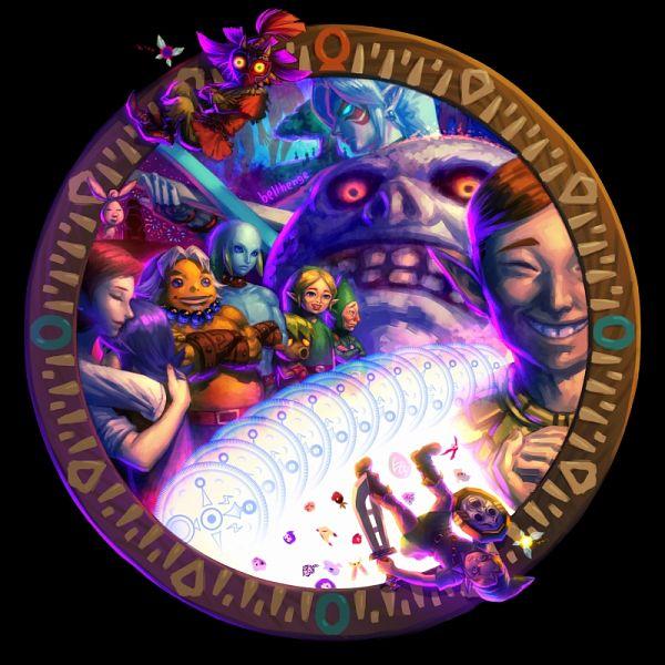 Zelda no Densetsu: Mujura no Kamen (The Legend Of Zelda: Majora's Mask) - Zelda no Densetsu