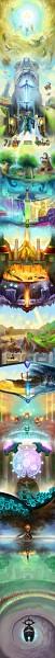 Tags: Anime, EternaLegend, Zelda no Densetsu: Skyward Sword, Zelda no Densetsu, Impa (Skyward Sword), Levias, Princess Zelda, Eldin (Skyward Sword), Loftwing, Cawlin, Batreaux, Zelda (Skyward Sword), Tentalus