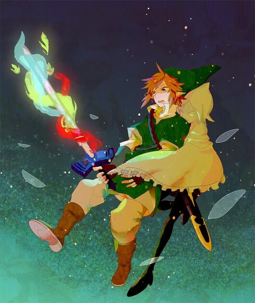 Tags: Anime, Pomeko, Zelda no Densetsu, Zelda no Densetsu: Skyward Sword, Link, Fi, Link (Skyward Sword), Master Sword, Pixiv, Fanart From Pixiv, Fanart