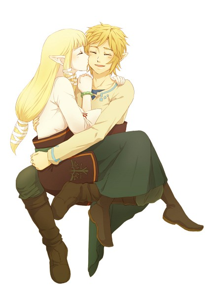 Tags: Anime, Saiba (Henrietta), Zelda no Densetsu, Zelda no Densetsu: Skyward Sword, Link (Skyward Sword), Princess Zelda, Zelda (Skyward Sword), Link, Mobile Wallpaper, Fanart, Pixiv, Fanart From Pixiv