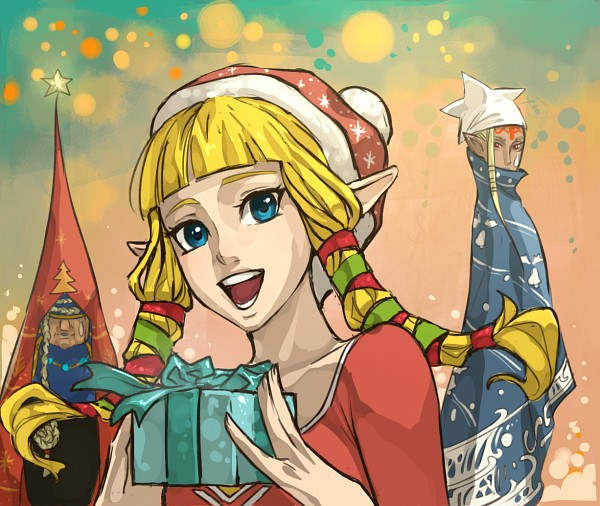 Tags: Anime, Francisca Alday, Zelda no Densetsu, Zelda no Densetsu: Skyward Sword, Impa (Skyward Sword), Zelda (Skyward Sword), Impa, Princess Zelda, Fanart, PNG Conversion, Tumblr