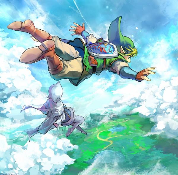 Tags: Anime, Muse (Rainforest), Zelda no Densetsu, Zelda no Densetsu: Skyward Sword, Fi, Link (Skyward Sword), Link, Fanart From DeviantART, Fanart, deviantART