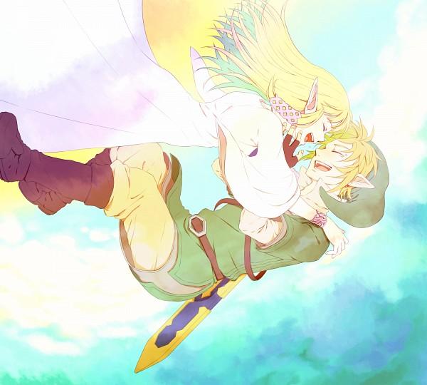 Tags: Anime, Saiba (Henrietta), Zelda no Densetsu: Skyward Sword, Zelda no Densetsu, Princess Zelda, Link (Skyward Sword), Link, Zelda (Skyward Sword)
