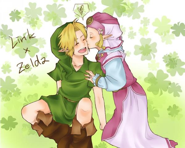 Tags: Anime, Yume-(Marimo), Zelda no Densetsu, Zelda no Densetsu: Toki no Ocarina, Link, Young Zelda, Young Link, Zelda (Toki no Ocarina), Princess Zelda, Link (Toki no Ocarina), Fanart