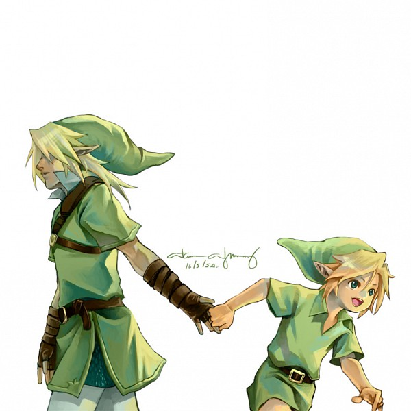 Tags: Anime, Longjunt, Zelda no Densetsu: Toki no Ocarina, Zelda no Densetsu, Young Link, Link (Toki no Ocarina), Link, Tunic, Walking Away, deviantART, Fanart From DeviantART, Fanart