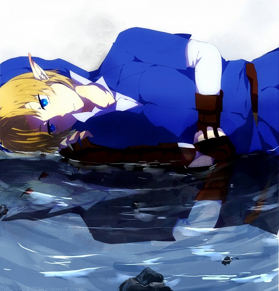 Tags: Anime, Nisisawa, Zelda no Densetsu: Toki no Ocarina, Zelda no Densetsu, Link (Toki no Ocarina), Dark Link, Link, Different Reflection, Pixiv, Fanart From Pixiv, Fanart