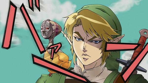 Tags: Anime, Pixiv Id 1110295, Zelda no Densetsu: Twilight Princess, Zelda no Densetsu, Ooccoo, Link (Twilight Princess), Link, Jojo no Kimyou na Bouken (Parody), Pixiv, Fanart, Facebook Cover, Fanart From Pixiv