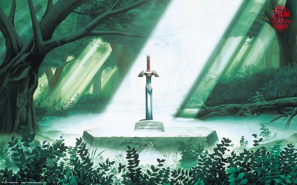 Tags: Anime, Nintendo, Zelda no Densetsu, Master Sword, Triforce, Artist Request, Wallpaper, Official Art, The Legend Of Zelda