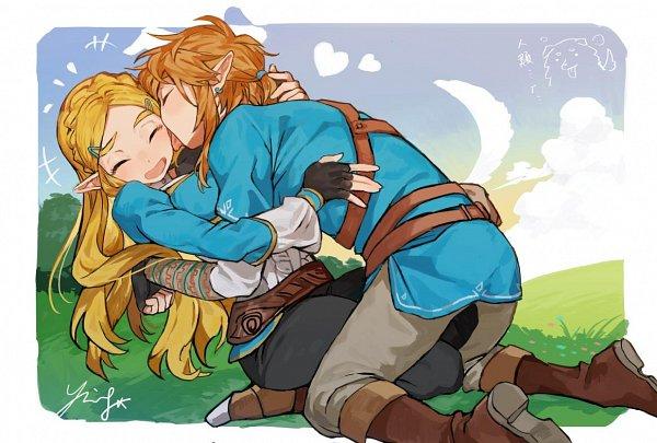 Tags: Anime, Hotaru Sue, Zelda no Densetsu, Zelda no Densetsu: Breath of the Wild, Zelda (Breath of the Wild), Link (Breath of the Wild), Princess Zelda, Link, The Legend Of Zelda