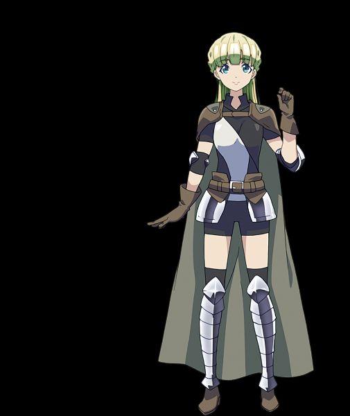 Tags: Anime, Silver Link, Death March kara Hajimaru Isekai Kyousoukyoku, Zena Marientail, Cover Image, Official Art