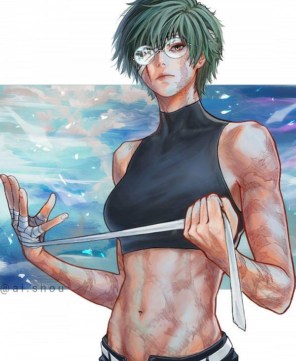 Tags: Anime, Pixiv Id 44241926, Jujutsu Kaisen, Zenin Maki