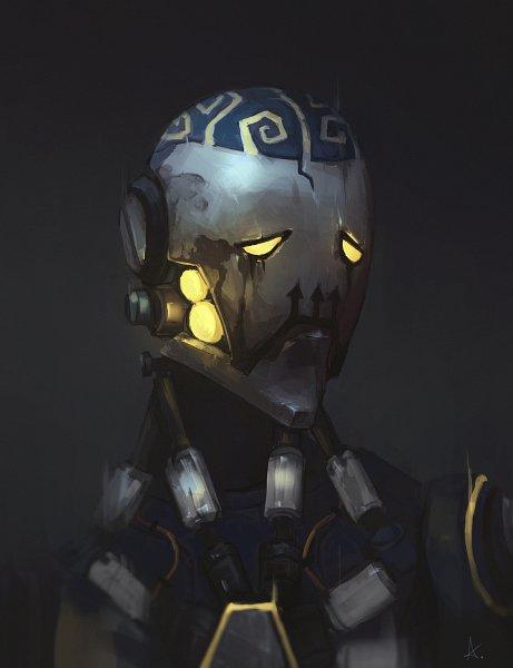 Tags: Anime, Aizelkon, Overwatch, Zenyatta (Overwatch), Fanart From DeviantART, deviantART, Fanart