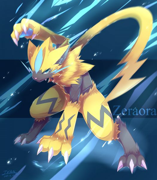 how to get zeraora in pokemon