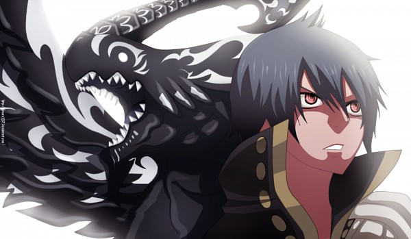 Tags: Anime, FAIRY TAIL, Acnologia, Zeref Dragneel, Colorization