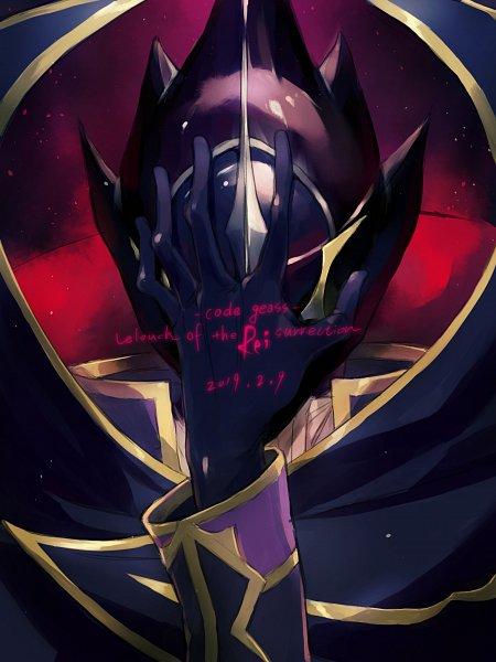 Tags: Anime, Pixiv Id 34751252, CODE GEASS: Hangyaku no Lelouch, Code Geass: Fukkatsu no Lelouch, Zero (CODE GEASS), Fanart
