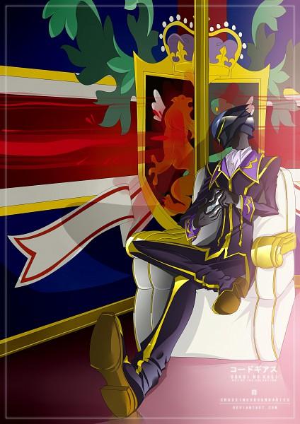 Tags: Anime, Crossingxboundaries, CODE GEASS: Hangyaku no Lelouch, Lelouch Lamperouge, Zero (CODE GEASS), deviantART