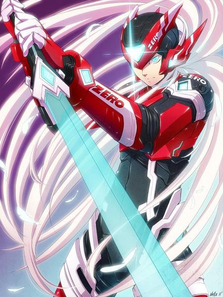 Tags: Anime, Rockman Zero, Rockman, Zero (Megaman Zero), Artist Request, Fanart