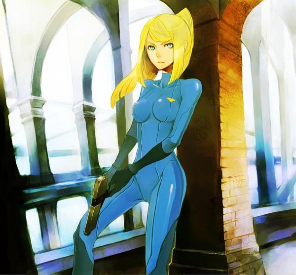 Tags: Anime, Metroid, Zero Suit Samus, Samus Aran, Latex