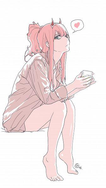 Tags: Anime, Pixiv Id 31352971, Darling in the FranXX, Zero Two (Darling in the FranXX), Pixiv, Fanart, Fanart From Pixiv