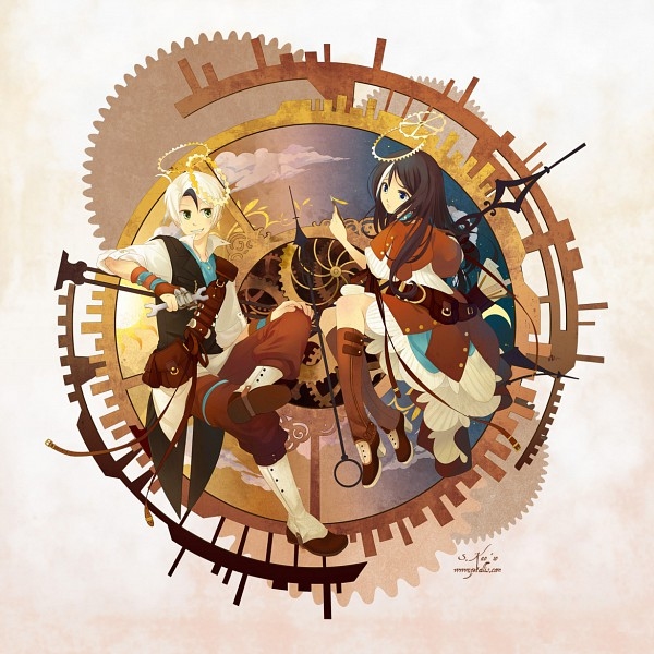 Tags: Anime, Zetallis, Steampunk, Screwdriver, Original