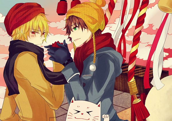 Tags: Anime, Pixiv Id 3017232, Zetsuen no Tempest, Takigawa Yoshino, Fuwa Mahiro, Pixiv, Blast Of Tempest