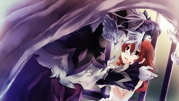 Tags: Anime, Karin Entertainment, Zettai Meikyuu Grimm ~Nanatsu no Kagi to Rakuen no Otome~, Muma (Zettai Meikyuu Grimm), Henrietta Grimm, CG Art, Labyrinth Of Grimm