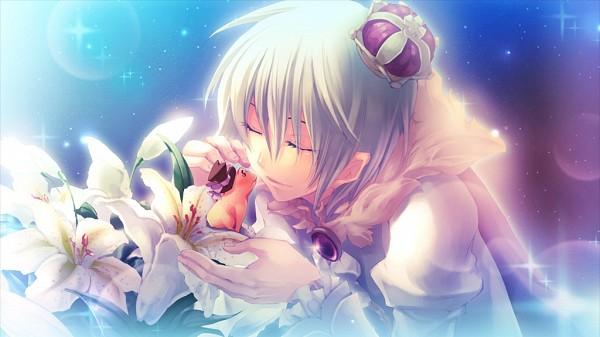 Tags: Anime, Kiri (Illustrator), Karin Entertainment, Zettai Meikyuu Grimm ~Nanatsu no Kagi to Rakuen no Otome~, Frog Prince (Zettai Meikyuu Grimm), Henrietta Grimm, Facebook Cover, Official Art, CG Art, Labyrinth Of Grimm