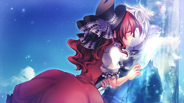 Tags: Anime, Kiri (Illustrator), Karin Entertainment, Zettai Meikyuu Grimm ~Nanatsu no Kagi to Rakuen no Otome~, Henrietta Grimm, Muma (Zettai Meikyuu Grimm), Wallpaper, CG Art, Facebook Cover, Official Art, Labyrinth Of Grimm