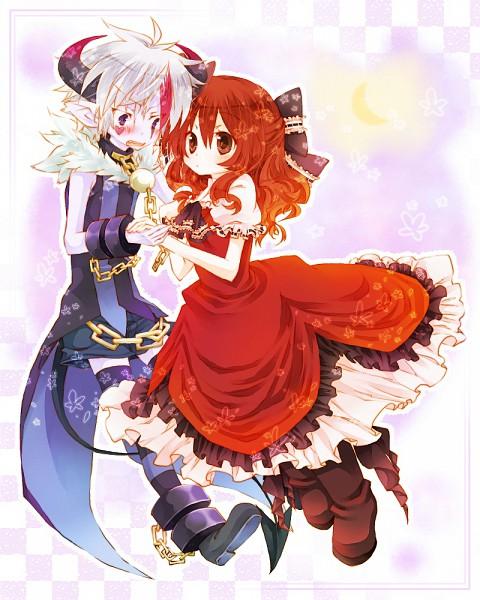 Tags: Anime, Amamiya Kabosu, Karin Entertainment, Zettai Meikyuu Grimm ~Nanatsu no Kagi to Rakuen no Otome~, Muma (Zettai Meikyuu Grimm), Henrietta Grimm, Labyrinth Of Grimm