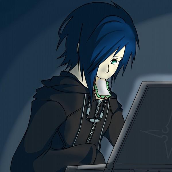Tags: Anime, Kingdom Hearts, Kingdom Hearts 358/2 Days, Zexion, Sandwich, Pixiv, Fanart From Pixiv, Fanart