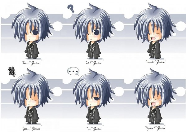 Tags: Anime, Kingdom Hearts, Zexion, Organization XIII