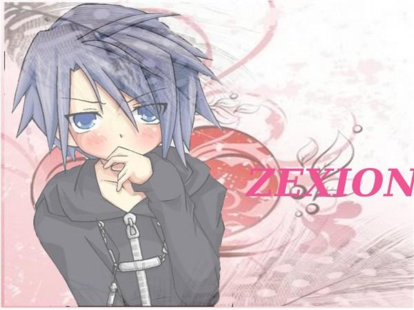 Tags: Anime, Kingdom Hearts, Kingdom Hearts II, Zexion, Wallpaper, Organization XIII