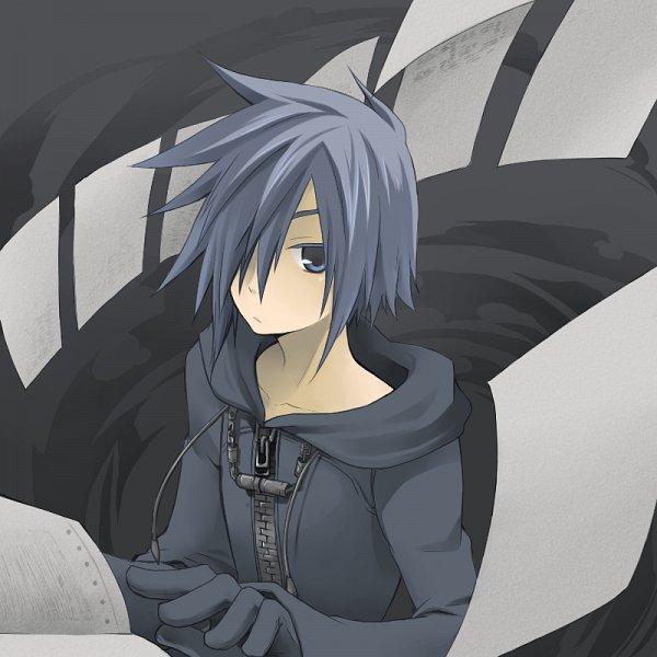 Tags: Anime, Pixiv Id 646353, Kingdom Hearts, Zexion, Organization XIII