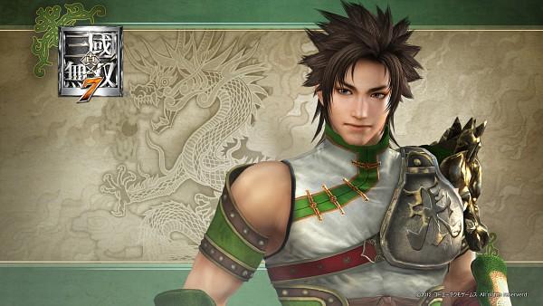 Tags: Anime, Koei, Dynasty Warriors, Zhang Bao, HD Wallpaper, 3D, Wallpaper, Official Art, Official Wallpaper