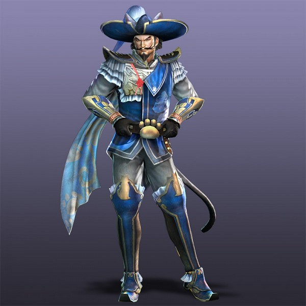 Tags: Anime, Puss In Boots, Dynasty Warriors, Zhang Liao, Official Art, 3D