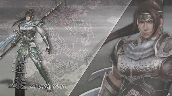 Tags: Anime, Dynasty Warriors, Zhao Yun, Wallpaper, HD Wallpaper, Official Art, 3D