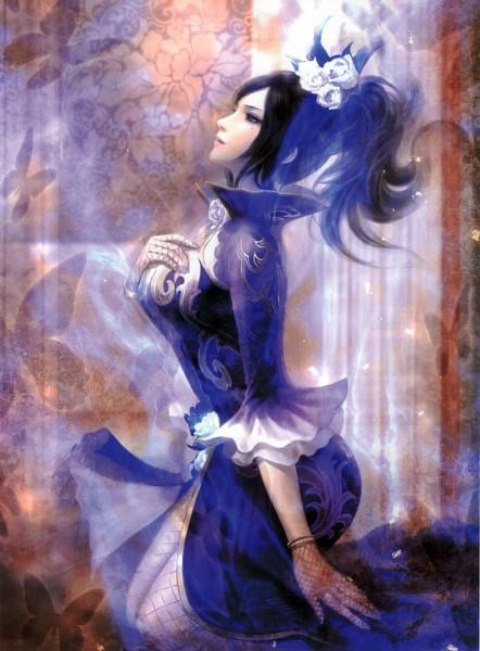 Tags: Anime, Dynasty Warriors, Zhen Ji, Official Art