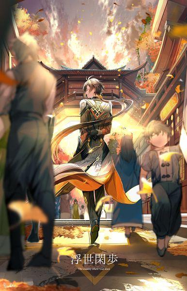 Tags: Anime, Pixiv Id 1526748, Genshin Impact, Zhongli, Fanart, Revision, Fanart From Pixiv, Pixiv