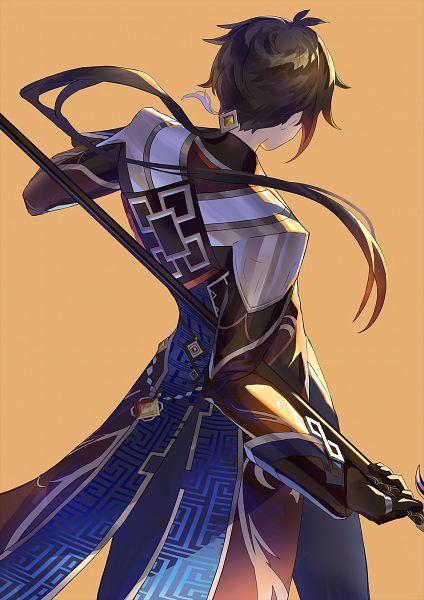 Tags: Anime, Pixiv Id 17848882, Genshin Impact, Zhongli