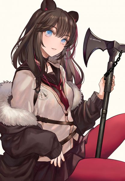 Tags: Anime, Miyako (Xxxbibit), Arknights, Zima (Arknights)
