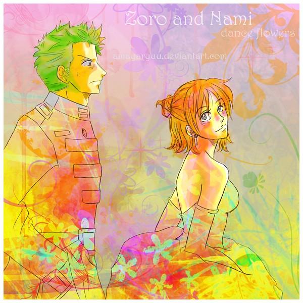 Tags: Anime, Francielenfortes, ONE PIECE, Roronoa Zoro, Nami (ONE PIECE), Straw Hat Pirates, ZoNa, The Eleven Supernovas