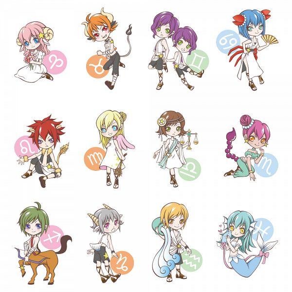 Tags: Anime, Yu1027-itan, Capricorn (Zodiac), Sagittarius, Centaur, Gemini, Aries, Scorpio, Taurus, Zodiac (Personification), Libra, Virgo, Leo (Zodiac)