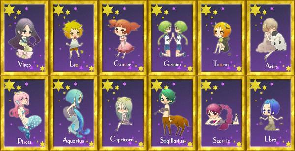 Tags: Anime, VOCALOID, Megurine Luka, Scorpio, Virgo, Balance Scale, Libra, Pisces, Leo (Zodiac), Cancer, Capricorn (Zodiac), Aquarius, Gemini